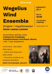 Wegelius Wind Ensemble -mainos